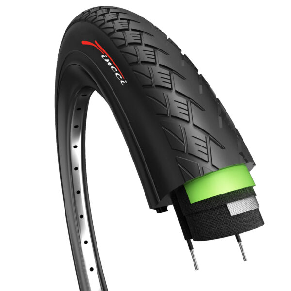 Fincci 700 x 38c 40-622 MTB Tyre with Antipuncture Protection